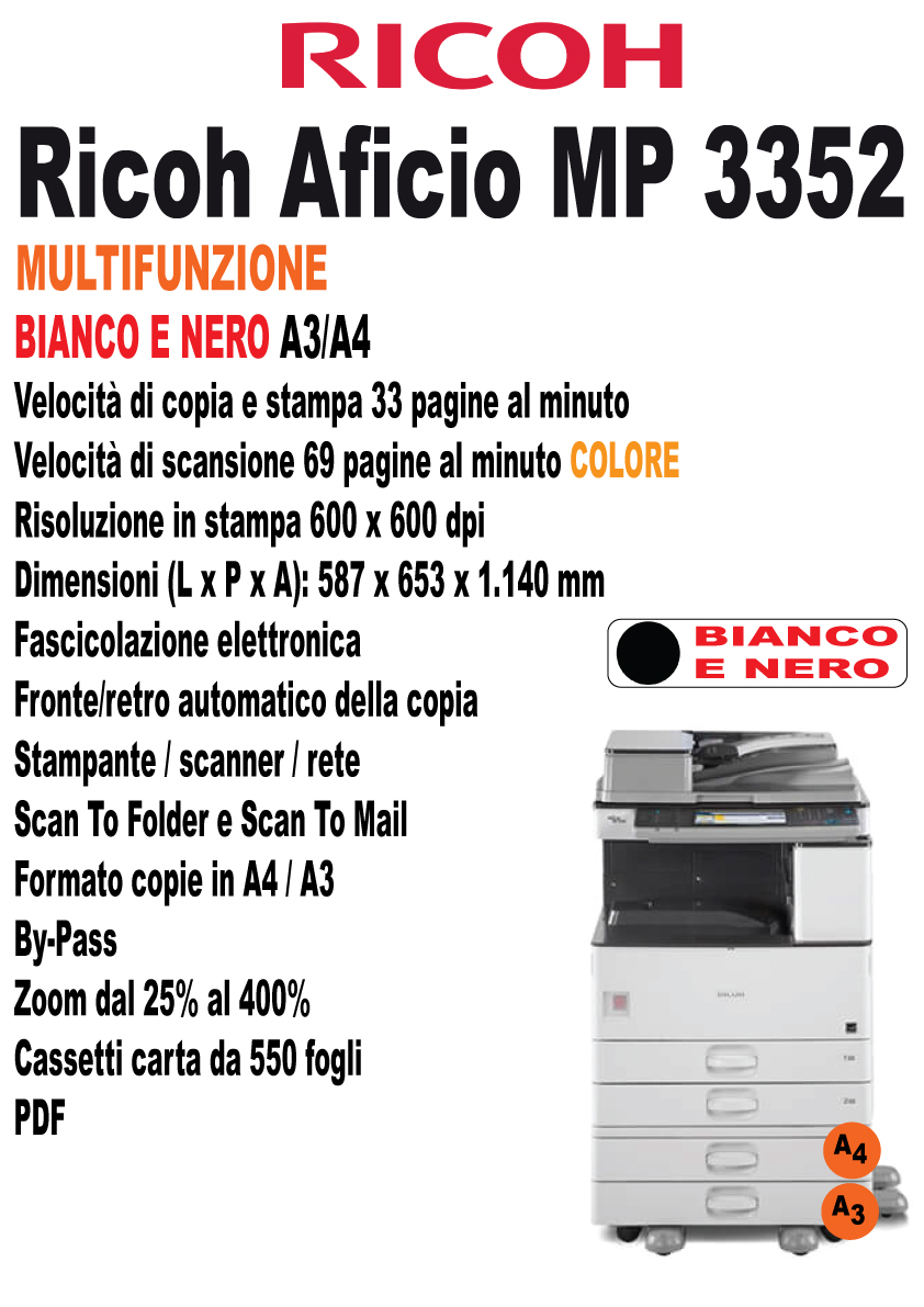 Ricoh Aficio MP 3352